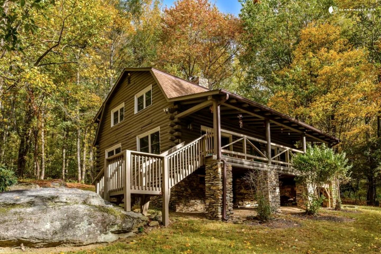Cabin Rental With Hot Tub Near Asheville North Carolina