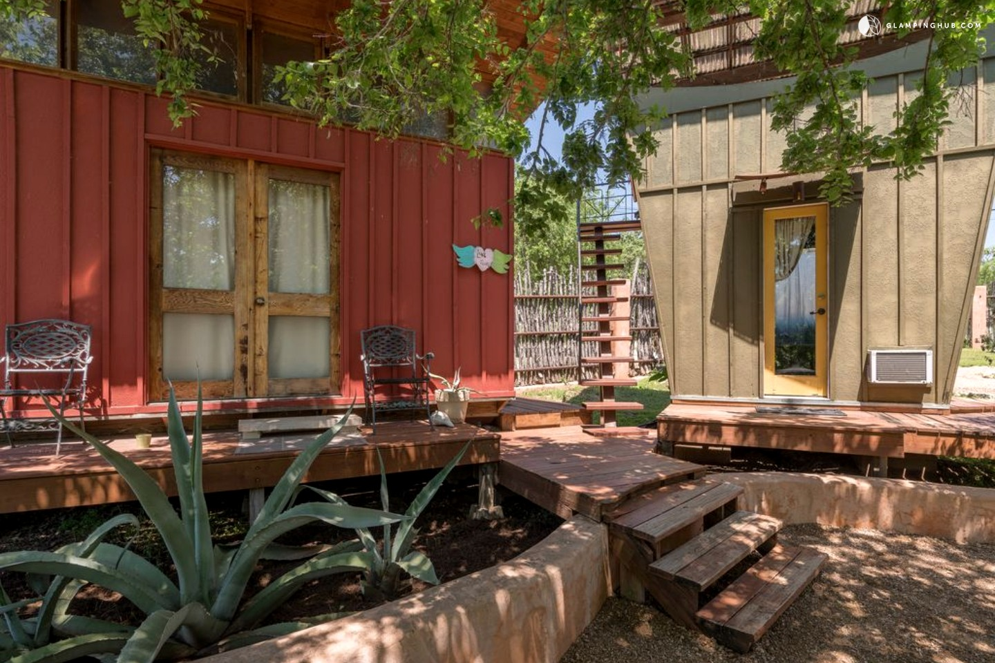Eco Cabin In Texas Hill Country Offer Yoga Retreats Near