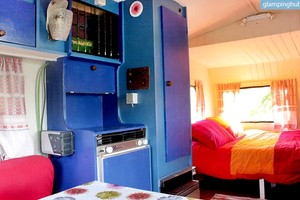 Eco-Friendly Luxury Caravan with Kitchenette in Northern Spain