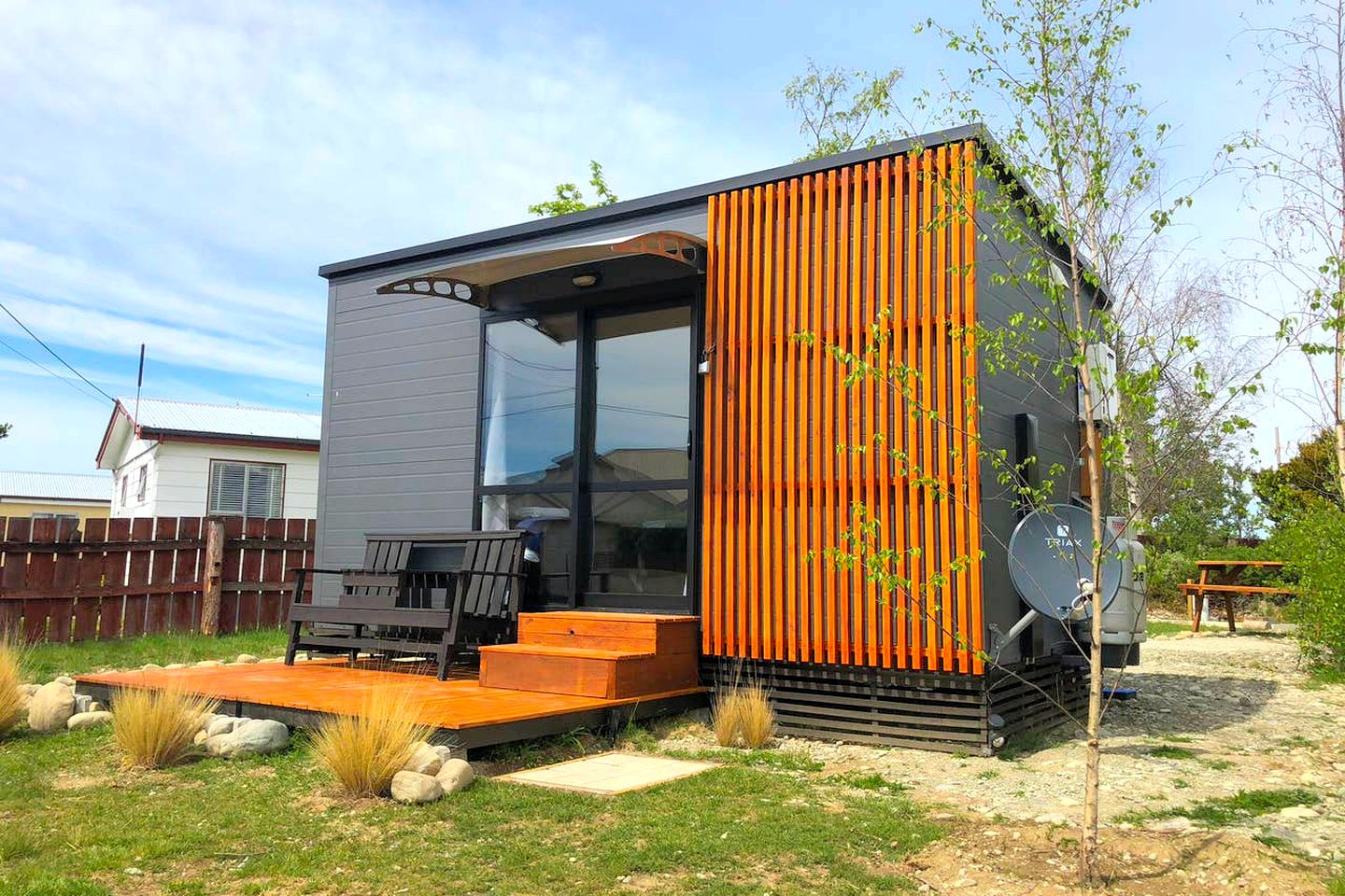 Tiny house rental, ideal for romantic getaways on the South Island
