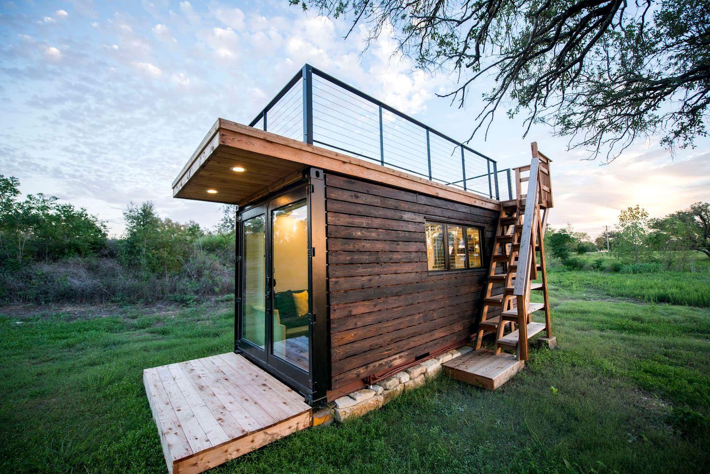 Tiny House Romantic Getaway Waco Texas Glamping Hub