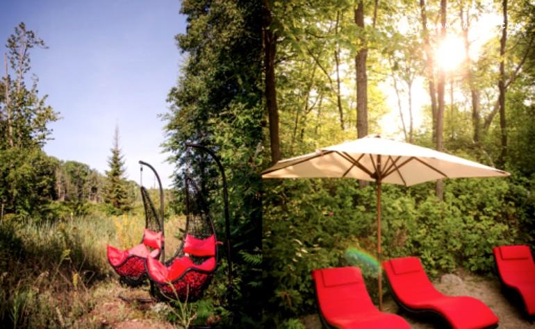 Eco-Friendly Luxury Camping near Ottawa River