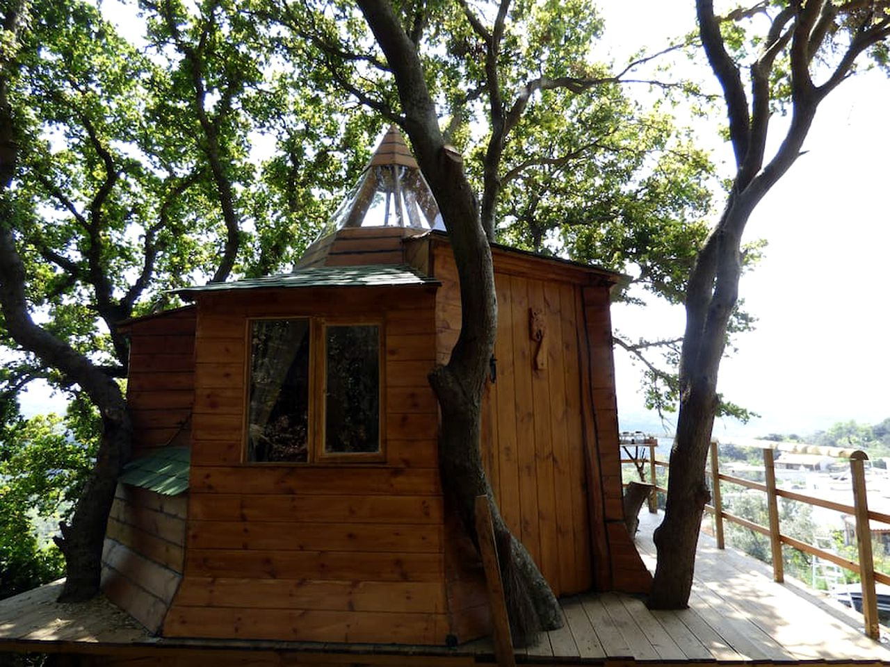 Tree Houses (Monopari, Crete, Greece)
