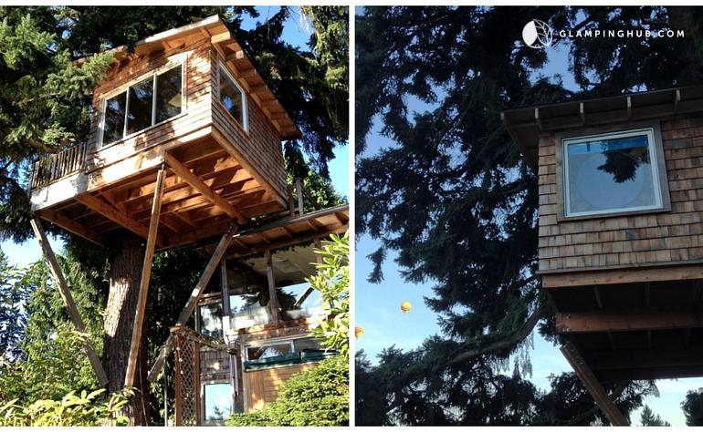 Nice Treehouse Rentals Washington Part - 12: Glamping Hub