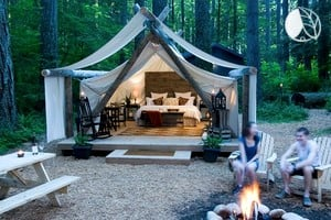 Add to wishlist & Exclusive Luxury Tent Cabins in Olympia Washington