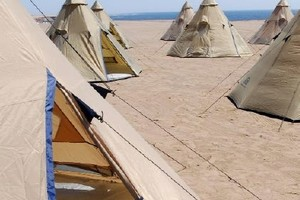 Luxury Tipis for Group and Business Events in Atacama Desert, Chile