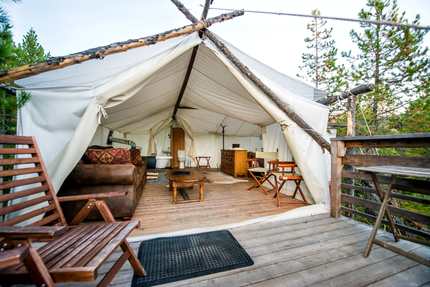 Luxury Camping Glacier National Park Boutique Camping