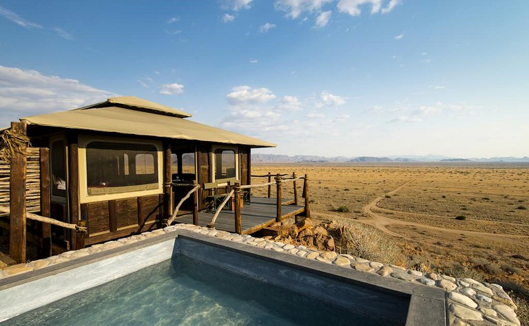 Exquisite Tents Perched On Top Of Naukluft Mountains With Spectacular Views Namibia