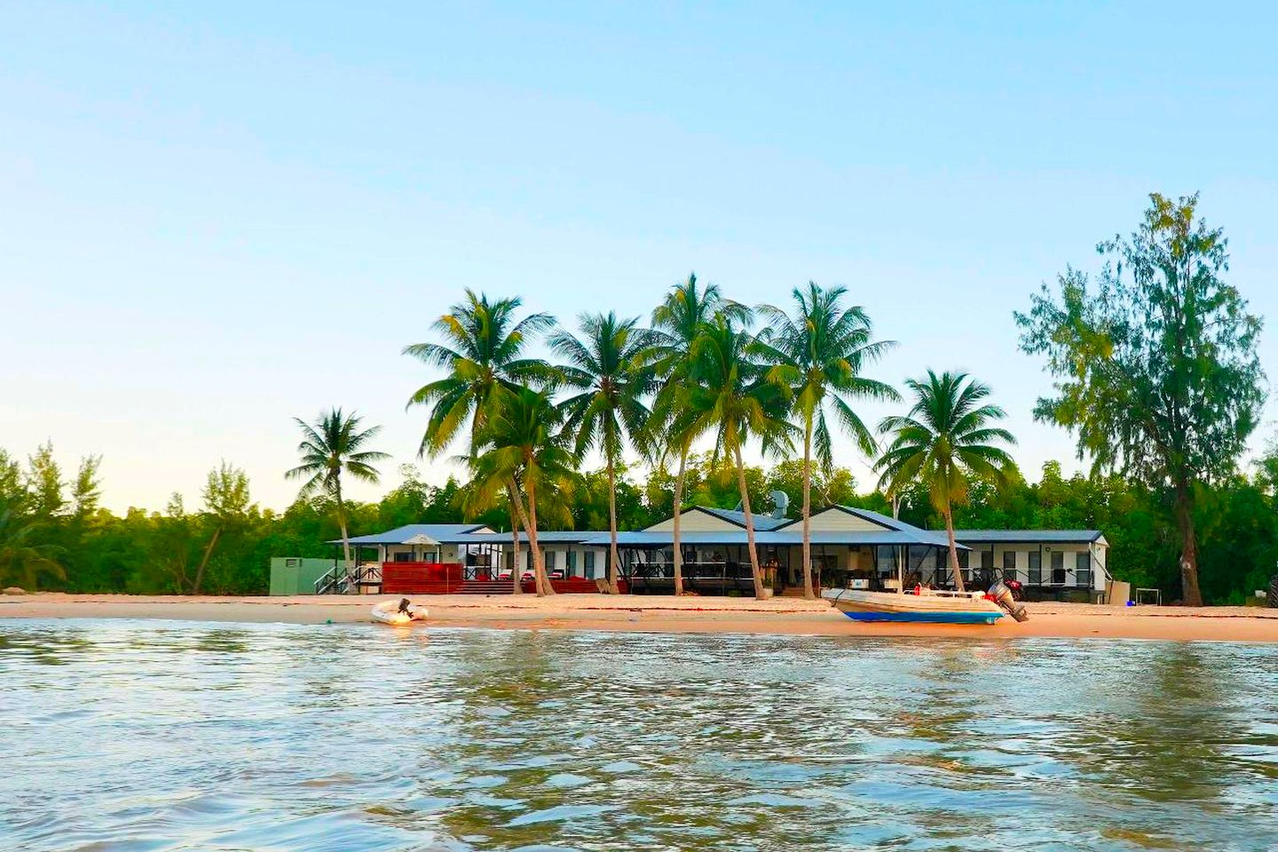 This Northern Territory holiday package includes a stay at this simply stunning Tiwi Islands accommodation