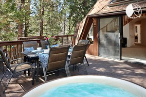 Photo of Extraordinary Dome Rental with Hot Tub in California