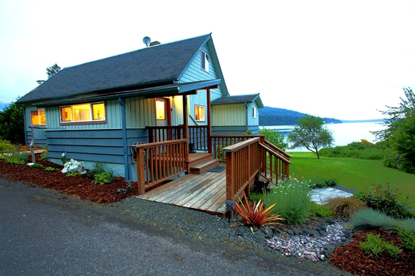 cabin rental in port townsend washington