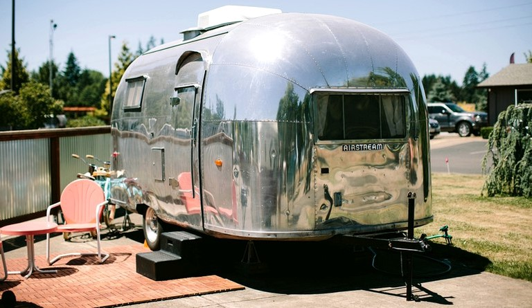 Family-Friendly Airstream Rental with Modern Amenities, Oregon