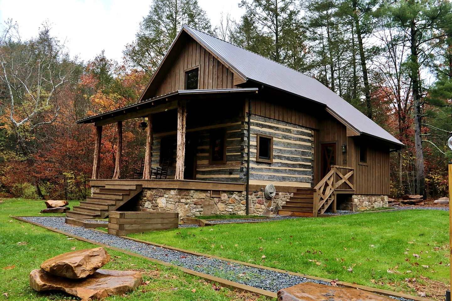 Monroe County cabins in West Virginia.