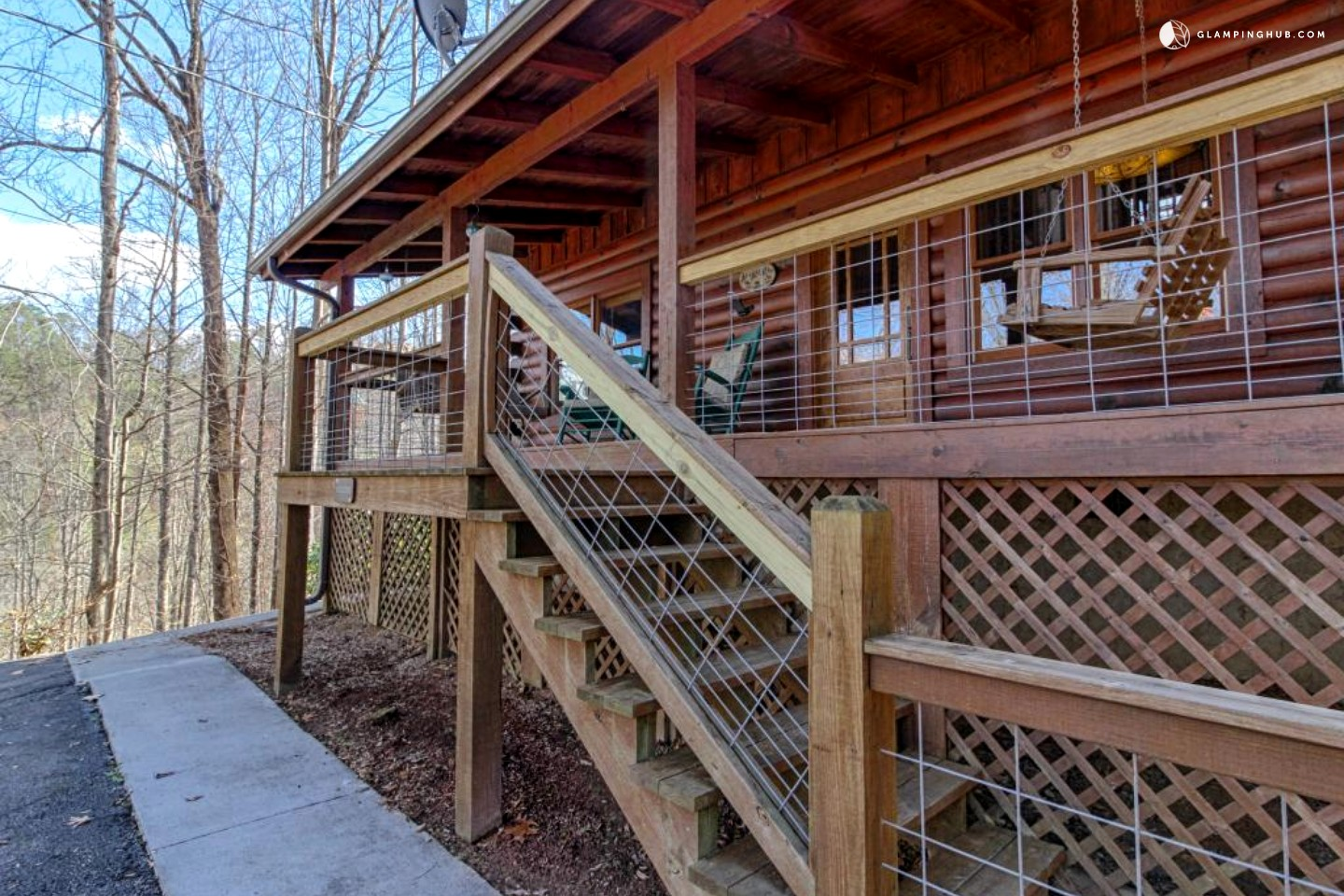 Family friendly cabin near smoky mountains in tennessee for Cabins near gatlinburg tn
