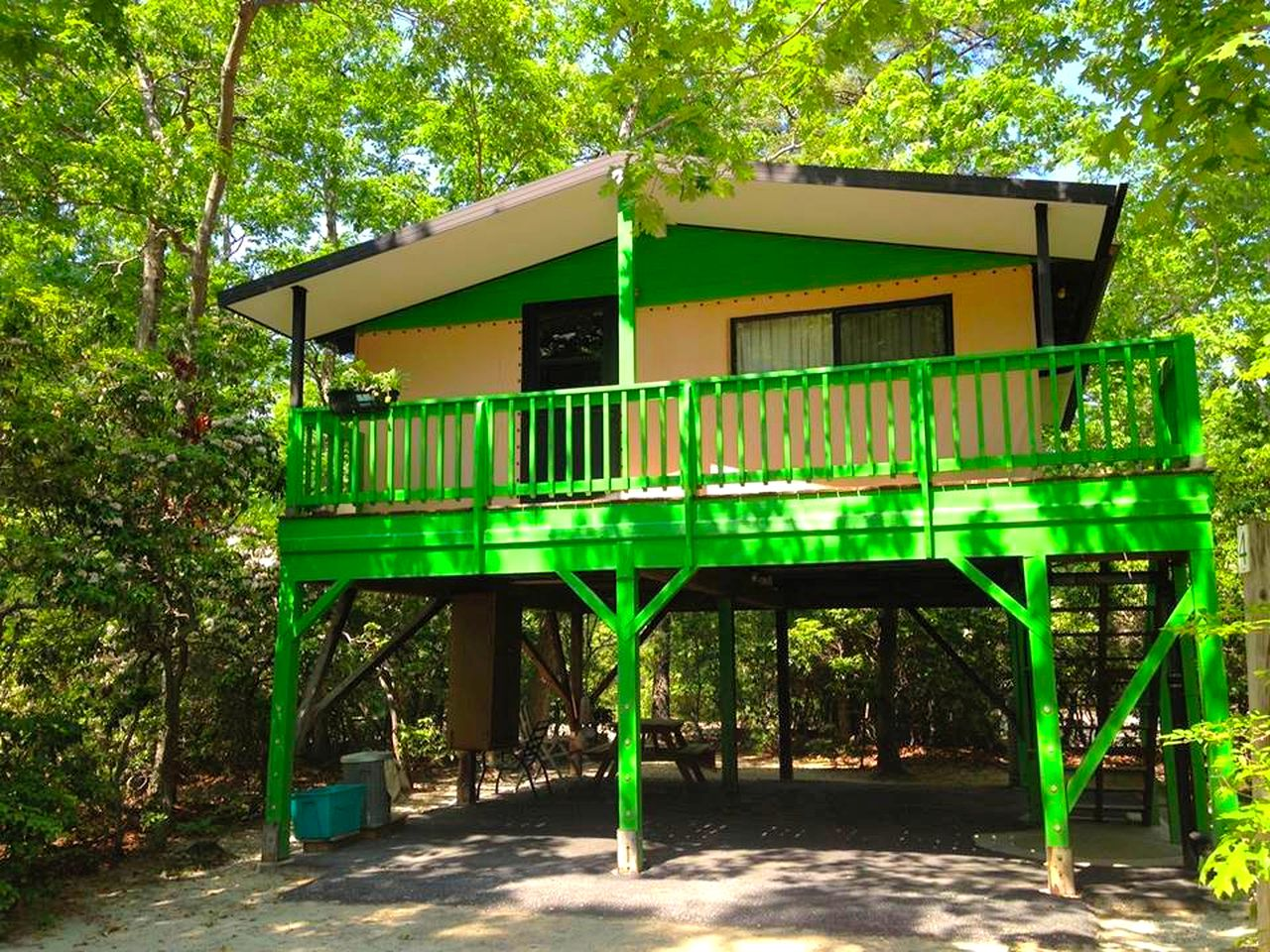 Tree house rental near Sea Isle City, New Jersey
