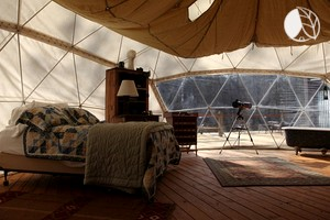 Photo of Fantastic Glamping Dome Nestled in Appalachian Mountains, Georgia