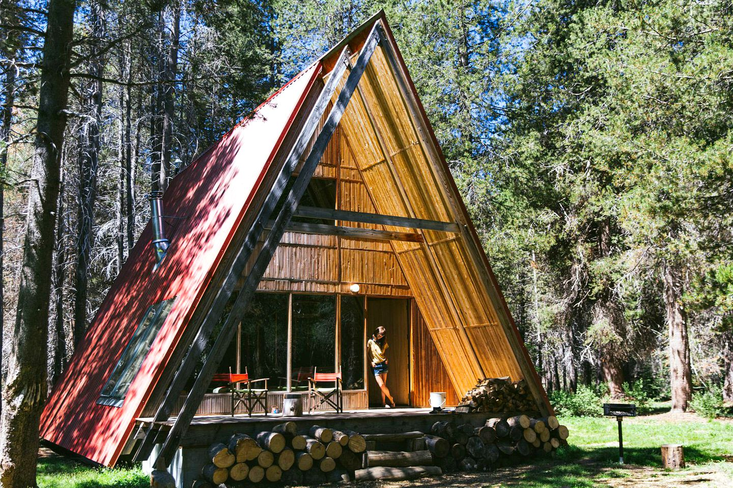 A-Frame cabins: Yosemite vacations