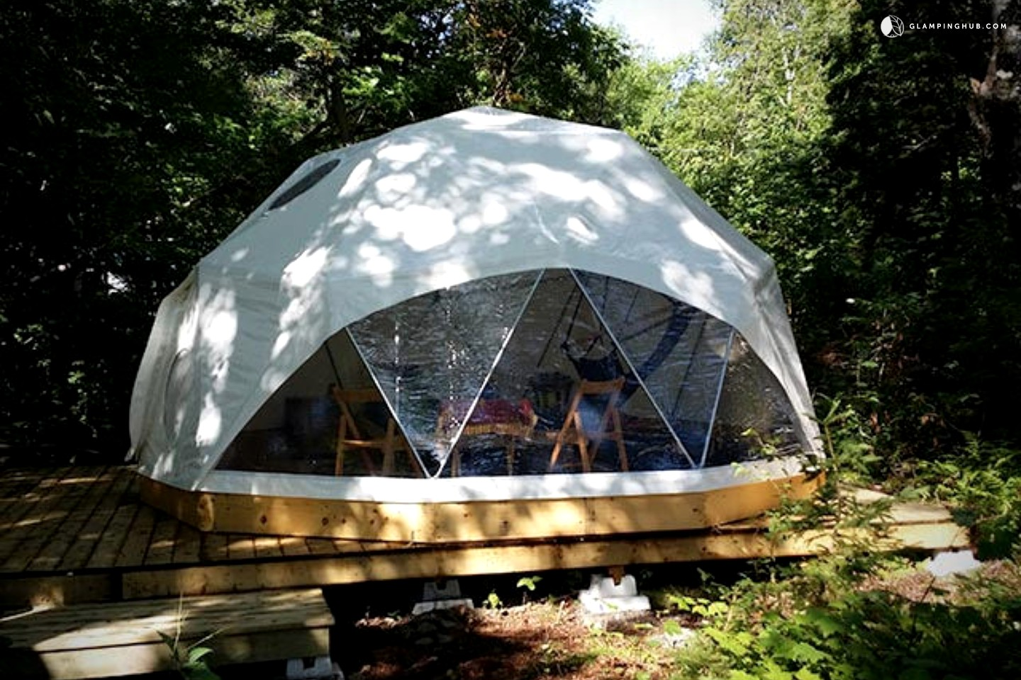 Geodesic Dome Home Dome Camping In Canada