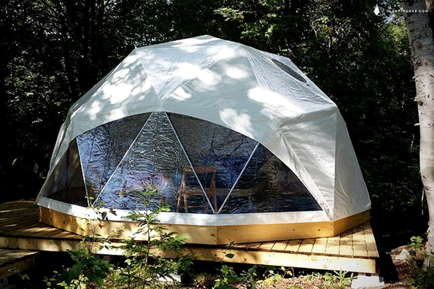 Dome Camping In Canada