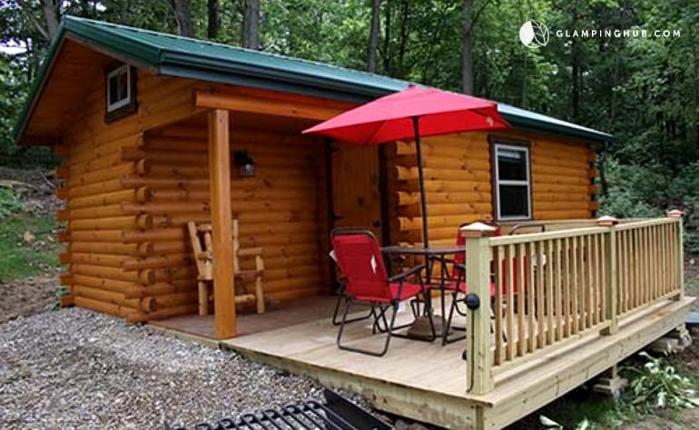 cabin rental on vineyard near cleveland ohio