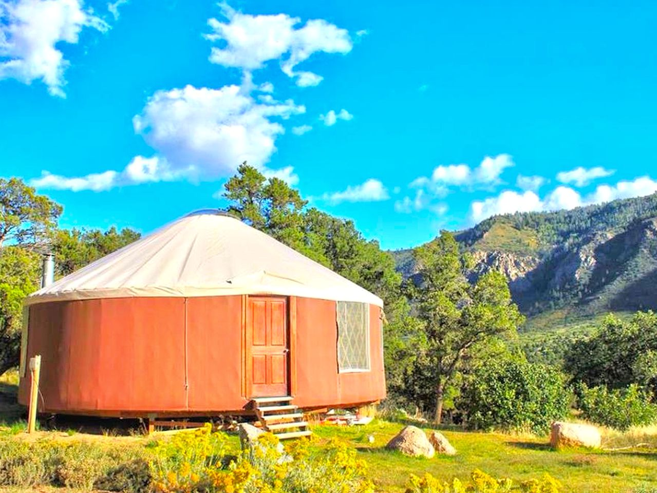 Yurts (Whitewater, Colorado, United States)