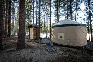 Photo of Fully Equipped Yurt With Beautiful Lake View in Sierra National Forest, California