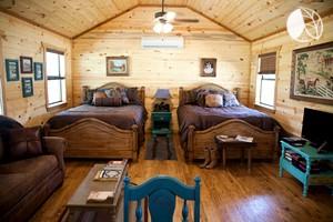 Beau ... Cabin Rental In Beautiful Natural Surroundings Near San Antonio, Texas.  Add To Wishlist
