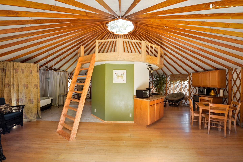 Yurt Rental Northern California Camping Yurt California