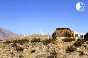 Photo of Geodesic Dome Retreat surrounded by Windmills - Dome