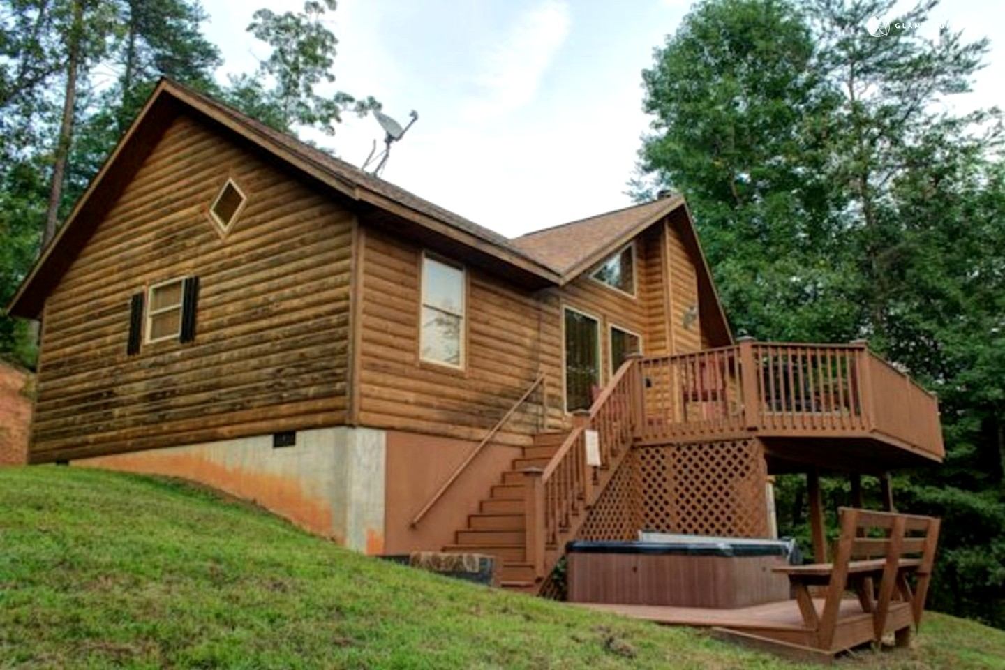 Cabin rental with hot tub near helen georgia - 8 bedroom cabins in north georgia ...