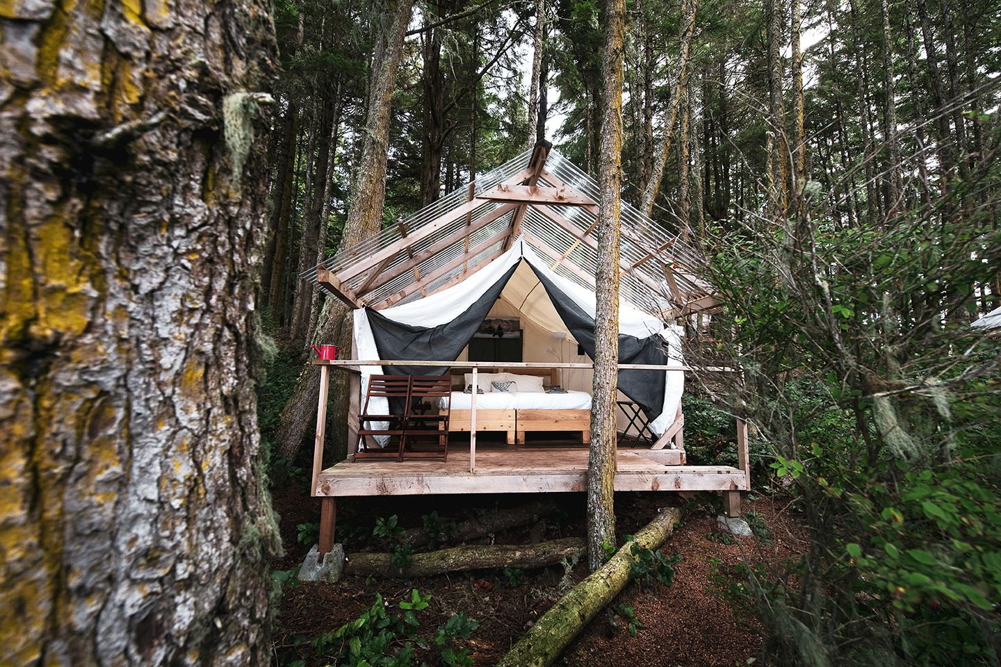Safari Tents (Swanson Island, British Columbia, Canada)