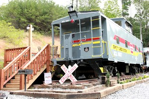 Photo of Glamping Caboose Rental Perfect for Families near Clyde, North Carolina