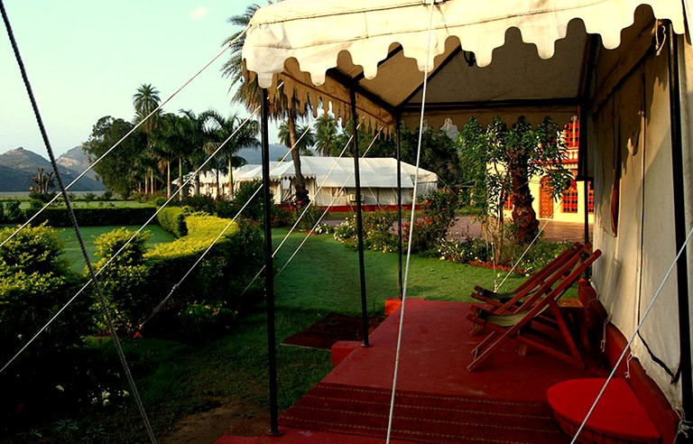 Glamping Canvas Tents in Rajasthan, India