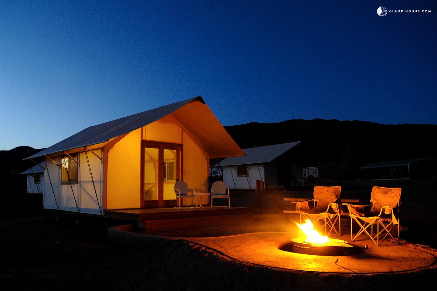Glamping Tent Cabins In Royal Gorge Colorado