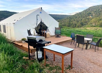 Luxury Tent Camping Near Grand Junction
