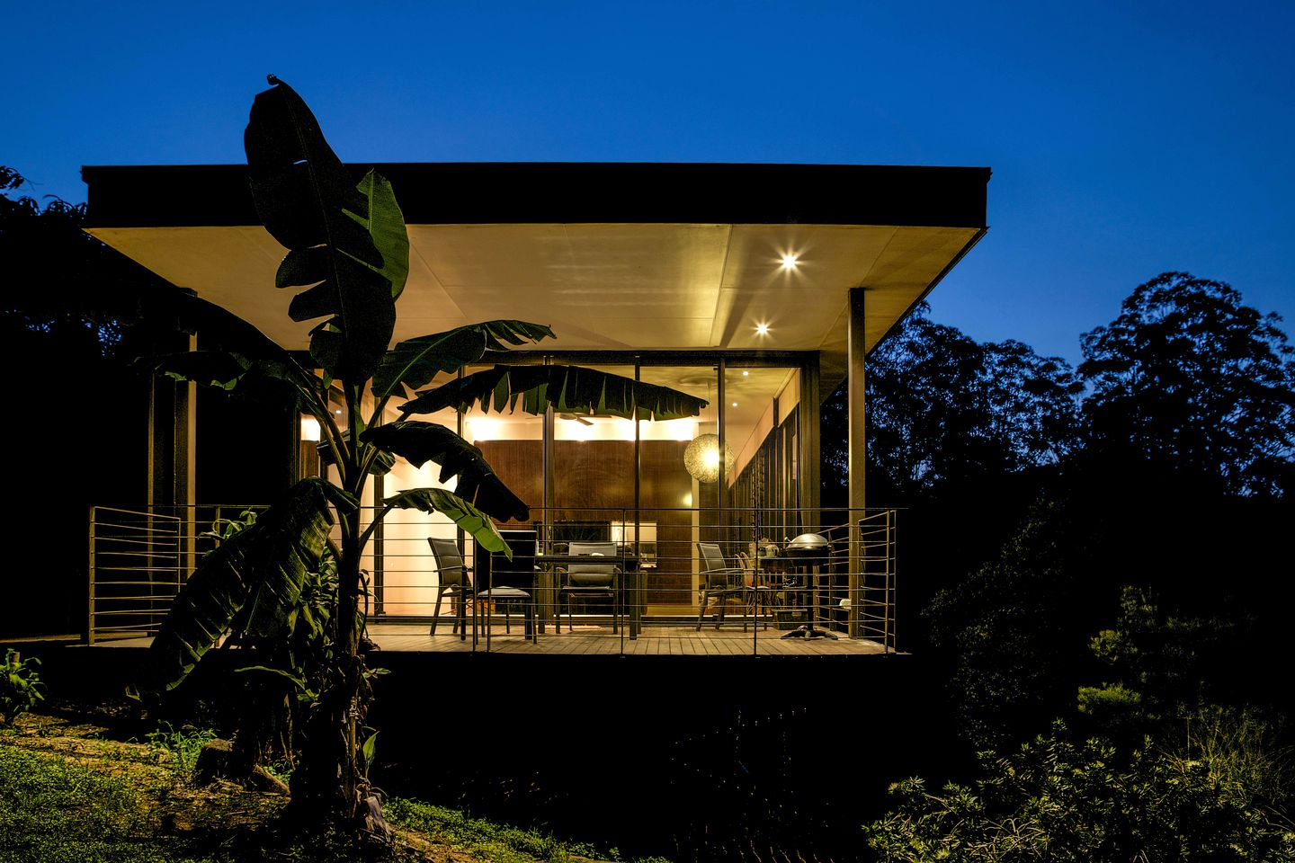 Cabins (Glass House Mountains, Queensland, Australia)