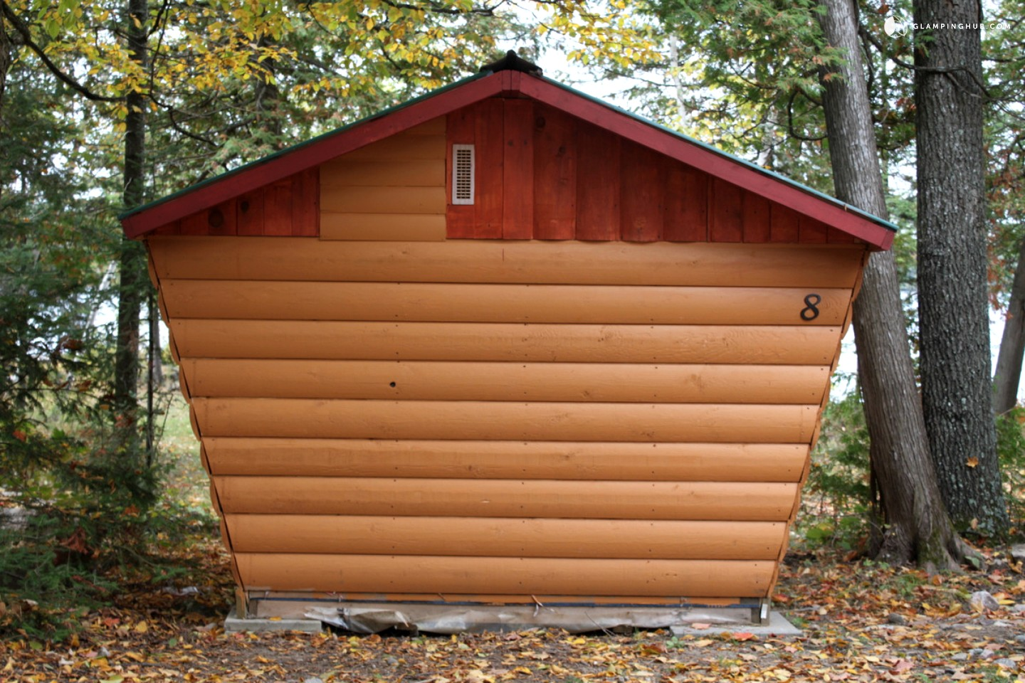 Luxury camping cabin near ottawa for Nearby campgrounds with cabins