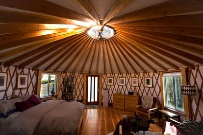 Glamping In California >> Yurt Near Yosemite National Park In Oakhurst California