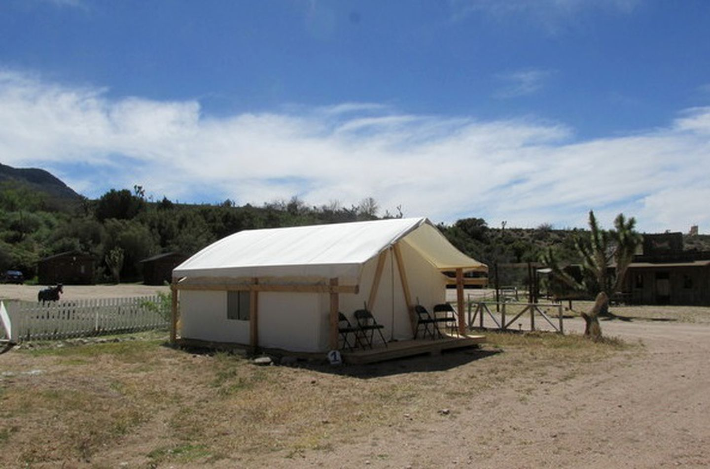 Grand Canyon Western Ranch tent rentals
