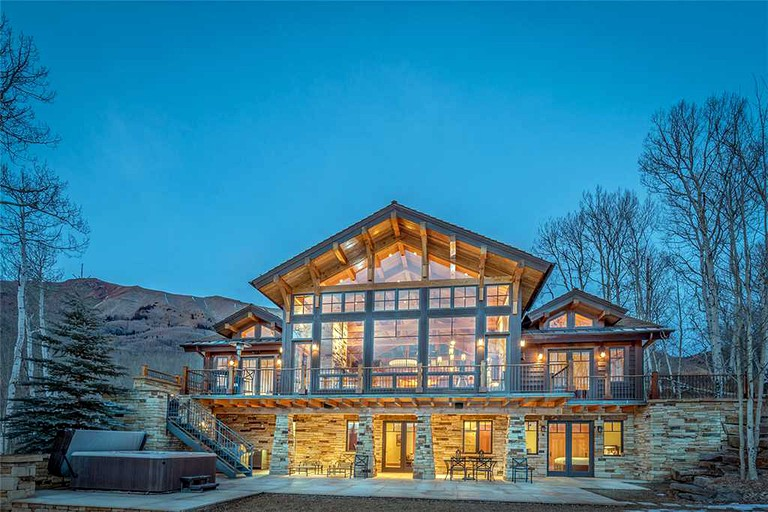 Sensational Cabin Rental With A Home Theater For Group Vacation In Telluride Colorado