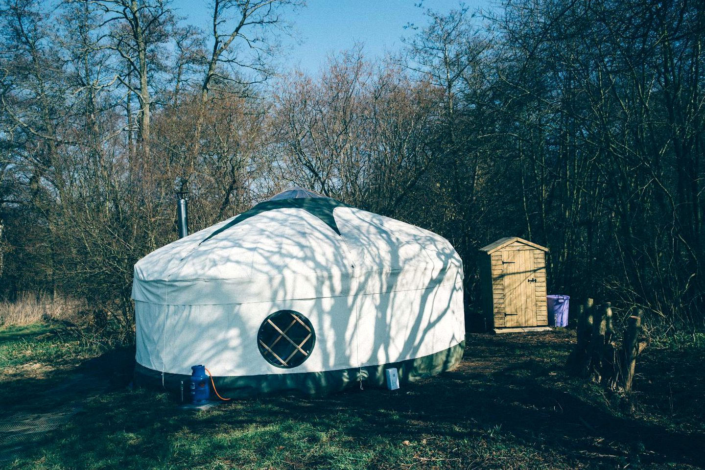 Book this yurt - Norfolk is a perfect place to spend the weekend away