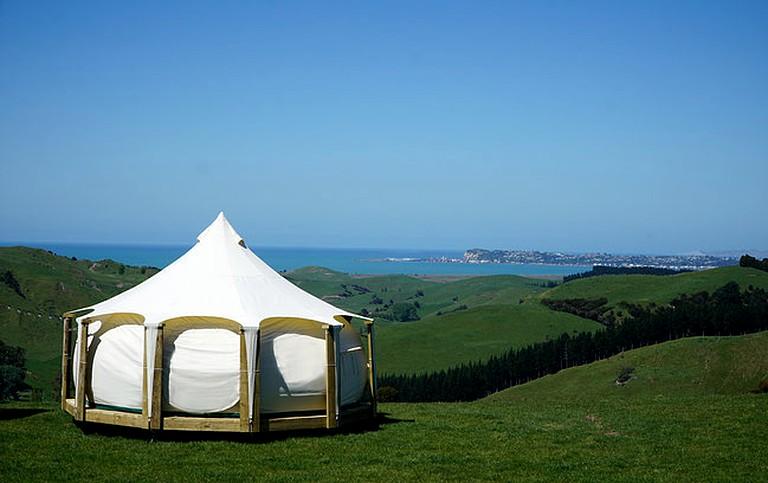 & Bell Tent Rental near Kaweka Forest Park North Island