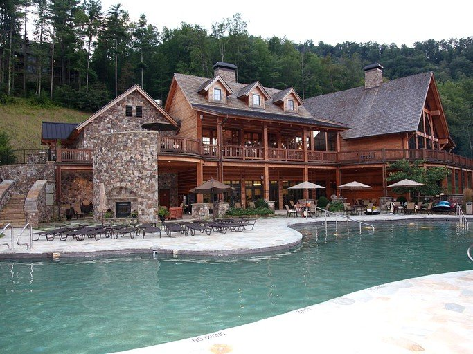 Superb Mountain Cottage on Luxury Resort in Nantahala Forest, North on nantahala cottage gable house plan, small brick ranch style house plan, tranquility house plan, bungalow home plan nantahala floor plan, mountain cottage floor plan, nantahala house plans bungalow, craftsman house plan,