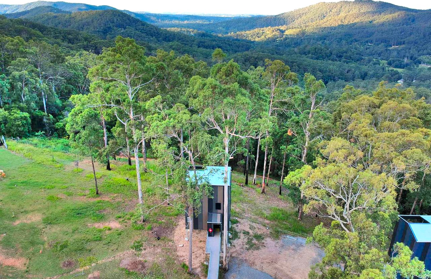 This amazing tree house in Gold Coast is a fantastic weekend getaway choice for guests looking for a great luxury holiday in Queensland.