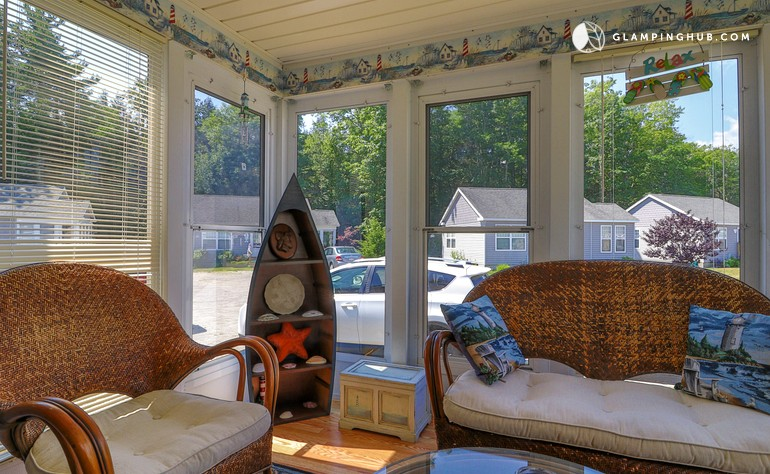 Beach Cabin Rental With Pool In Wells Maine