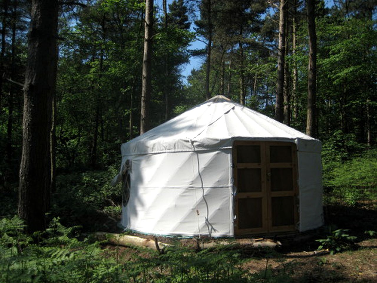 Yurts (Milwich, England, United Kingdom)