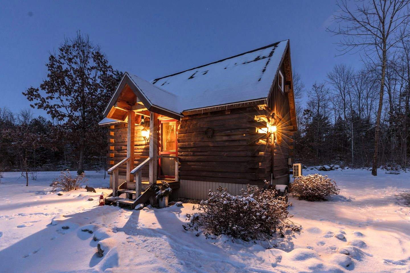 Log Cabins (Leicester, Vermont, United States)