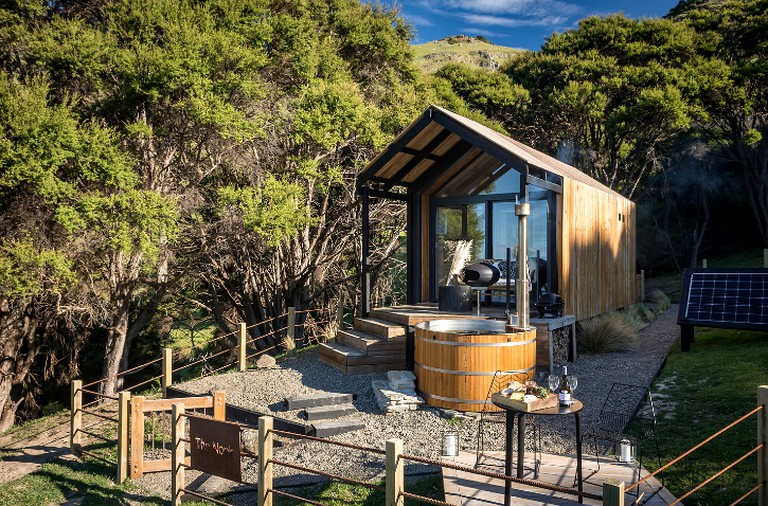 Excellent Incredible Tiny House Rental With Amazing Views In Akaroa South Island Home Interior And Landscaping Oversignezvosmurscom