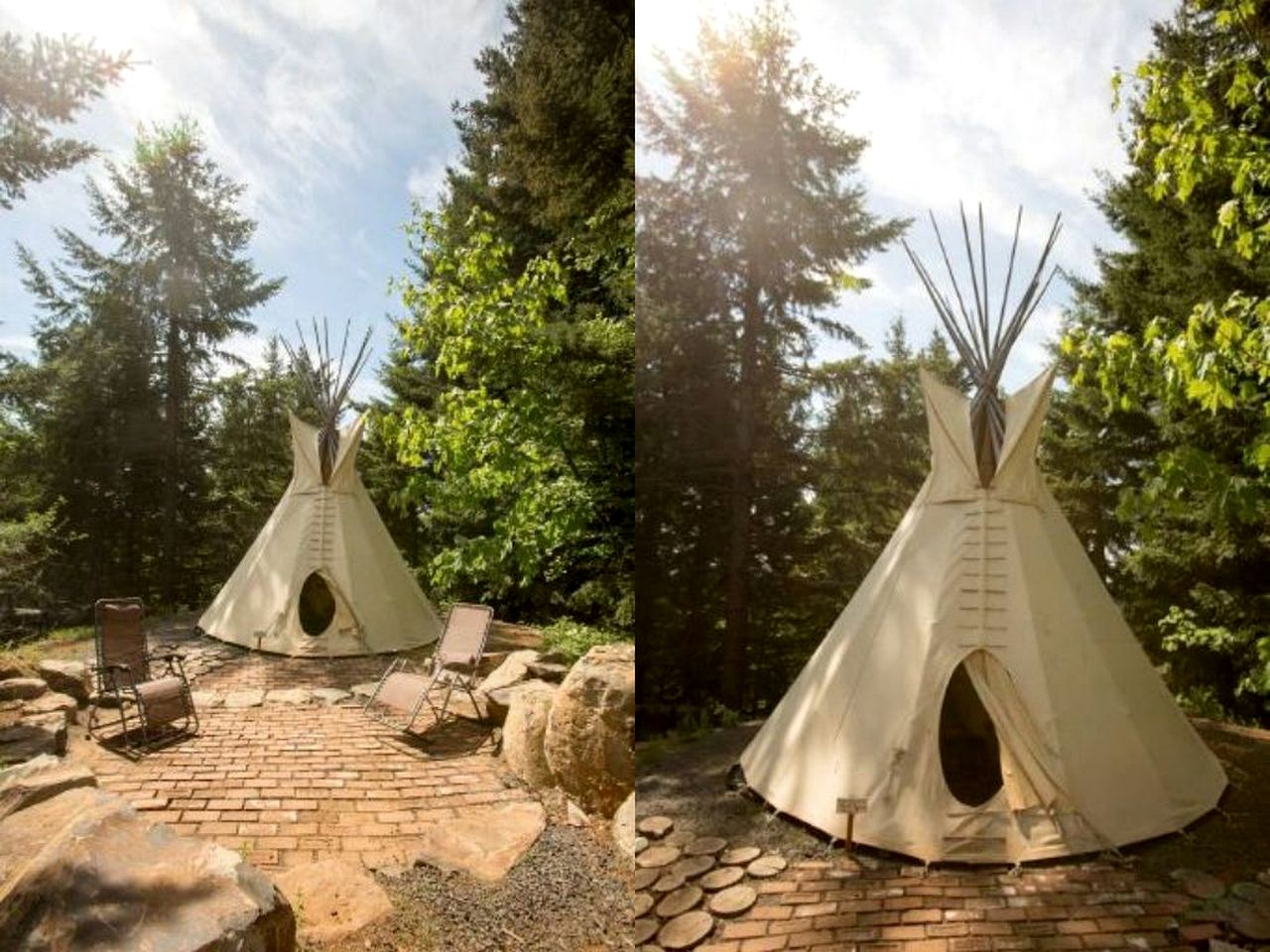 Tipis (White Salmon, Washington, United States)