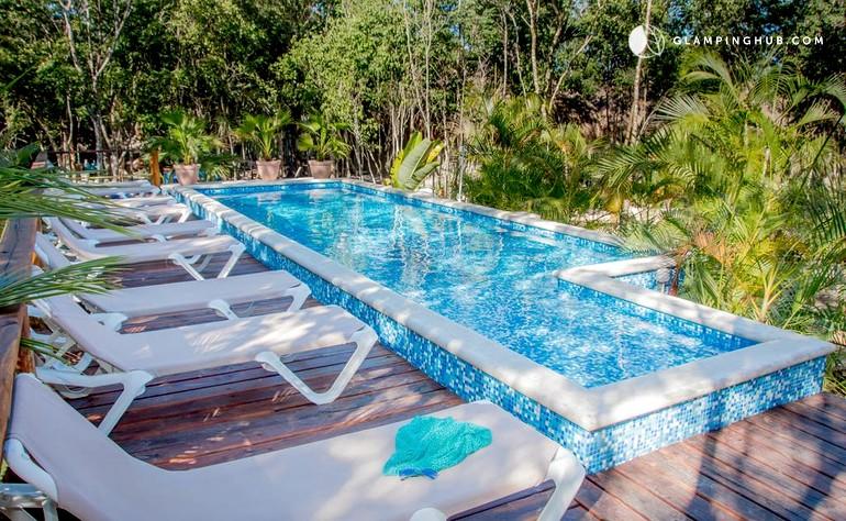 Bungalow Rental in Tulum Mexico